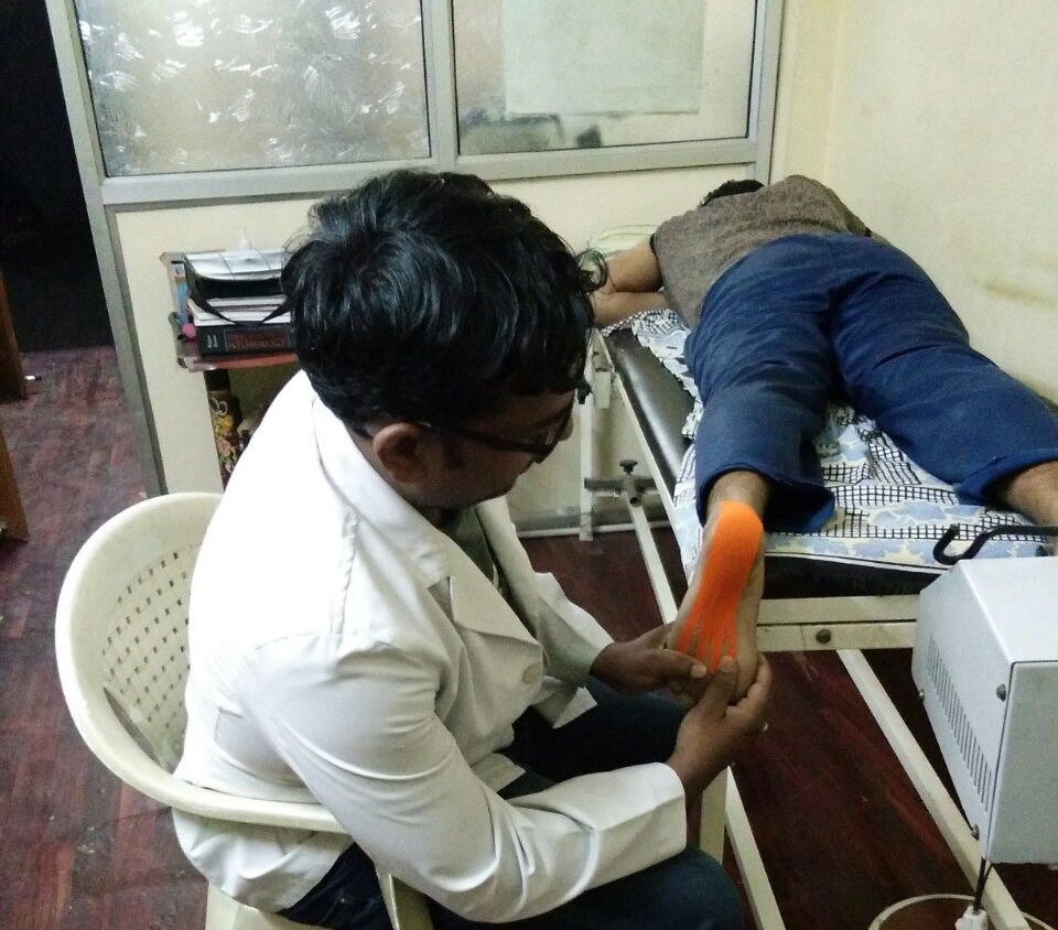 Physiotherapy Treatment at Clinic
